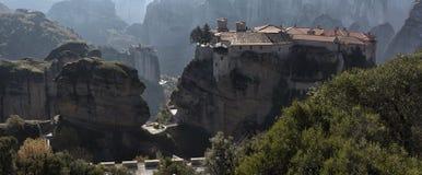 Ortodoxa kloster Meteora, Kalambaka Grekland Royaltyfri Fotografi