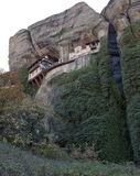Ortodoxa kloster Meteora, Kalambaka Grekland Royaltyfri Foto