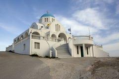 ortodoxa kyrkliga greece Arkivfoto