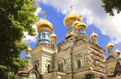 ortodoxa kyrkliga kiev Arkivfoto