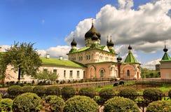 ortodoxa kyrkliga kiev Arkivbild
