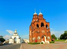 ortodoxa kyrkliga moscow Royaltyfria Foton