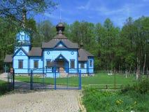 Ortodoxa kyrkor av det polska östliga landskapet 02 Arkivbilder