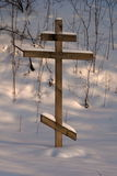 Ortodoxa trä korsar Royaltyfria Foton