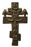 Ortodoxal-Kreuz Stockfotografie