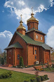 Ortodoxal kyrka Fotografering för Bildbyråer