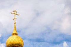 Ortodoxia de la nube Fotos de archivo