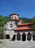 Ortodoxkyrka av den Bachkovo kloster Arkivfoton