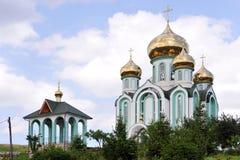 Ortodoxkyrka i Ukraina Royaltyfri Foto