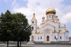 Ortodoxkyrka i Ukraina Fotografering för Bildbyråer