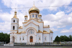 Ortodoxkyrka i Ukraina Royaltyfria Foton