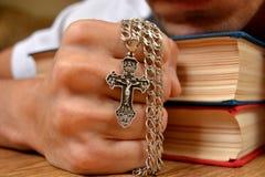 ortodoxt kors Fotografering för Bildbyråer