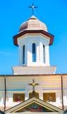 Ortodoxt kyrkligt torn på blå himmel Royaltyfri Fotografi