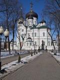 ortodoxt tempel Royaltyfri Foto