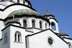 ortodoxt tempel Arkivbild