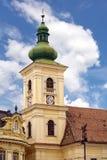 ortodoxt torn för klocka Arkivfoto
