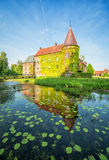 Ortofta castle in vertical view Royalty Free Stock Photos