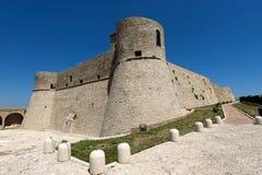 Ortona (Abruzzi, Italy), Castello Aragonese Royalty Free Stock Photography