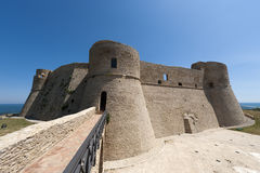 Ortona (Abruzzi, Italy), castle. Ortona (Chieti, Abruzzi, Italy), castle known as Castello Aragonese Stock Image