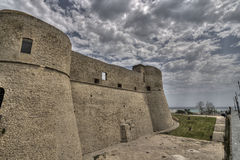Ortona castle Stock Photography