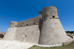 Ortona (Chieti, Abruzzi, Italy), castle. Known as Castello Aragonese Stock Photography