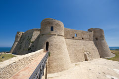 Ortona (Chieti, Italy), castle. Ortona (Chieti, Abruzzi, Italy), castle known as Castello Aragonese Royalty Free Stock Photo
