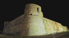 Ortona Italien - den Aragonese fästningen Royaltyfri Foto