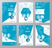 Ortopedia y plantilla de la tarjeta de la medicina de la radiología libre illustration