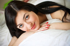 Ortrait of a cute young woman Royalty Free Stock Image