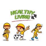 Orts и здоровое Living-01 Стоковые Фото