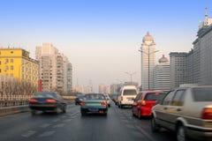 Ortsverkehr Stockfotografie