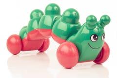 Oruga verde Imagen de archivo libre de regalías