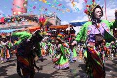 Oruro狂欢节 免版税库存照片