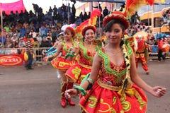 Oruro狂欢节 免版税库存图片