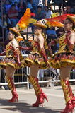 oruro της Βολιβίας καρναβάλι & στοκ εικόνες