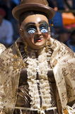 oruro της Βολιβίας καρναβάλι & στοκ φωτογραφία