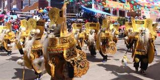 Oruro Carnaval Royalty-vrije Stock Afbeelding