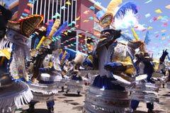 Oruro Carnaval royalty-vrije stock foto