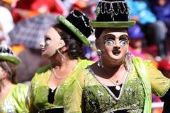 Oruro Carnival Stock Image