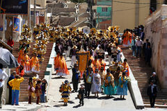 Oruro festival Royalty Free Stock Images