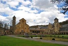 Orval abbotskloster Fotografering för Bildbyråer