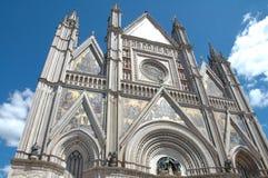 Orvieto大教堂 库存照片