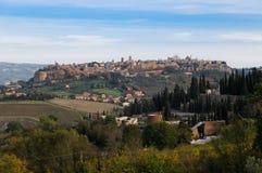 Orvieto概览 免版税库存图片
