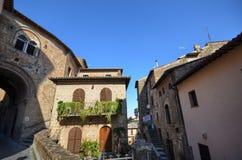 Orvieto, Úmbria, Itália O centro histórico Imagens de Stock Royalty Free