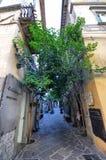 Orvieto, Úmbria, o 30 de agosto de 2015 O centro histórico Fotografia de Stock Royalty Free