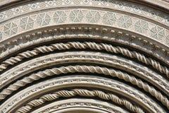 orvieto детали собора Стоковая Фотография