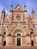 Orvieto Cathedal Royalty Free Stock Photo