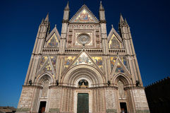 Orvieto Cathedral Stock Photo