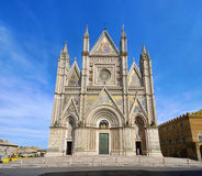 Orvieto cathedral Stock Photography