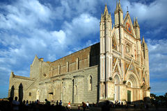 Orvieto cathedral Stock Image
